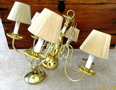 Brass Chandelier on Brass Chandelier