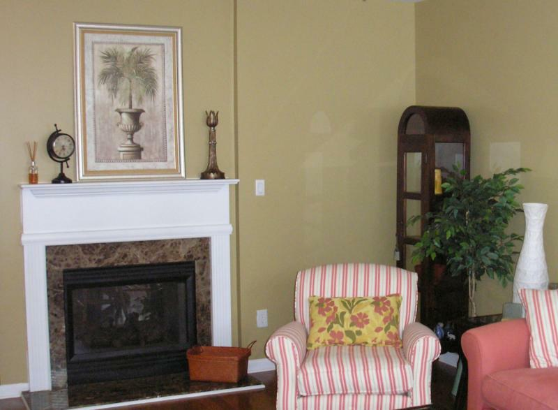 Staging Home for Sale Living Room