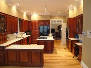 home staging in the kitchen