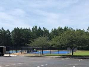 pickleball courts at Great Sky
